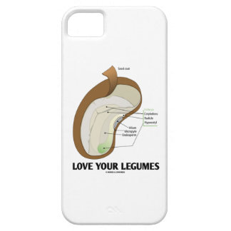 Love Your Legumes (Bean Dicotyledon) iPhone SE/5/5s Case