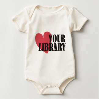 Love Your Library Baby Bodysuit