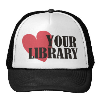 Love Your Library Hats