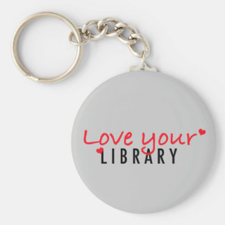 Love your Library Key Chains