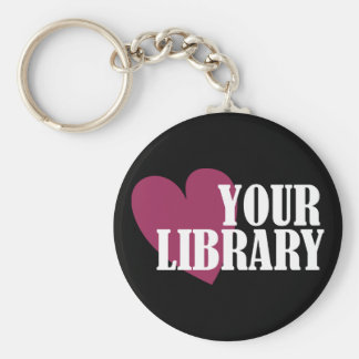 Love Your Library Keychain