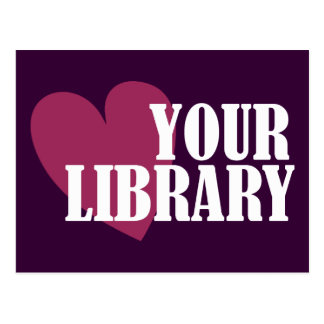 Love Your Library Postcard
