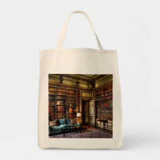 Love your library! tote bag