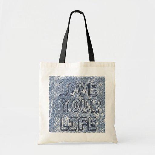 Love Your Life handbag Tote Bag