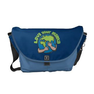 Love Your Mama Courier Bag