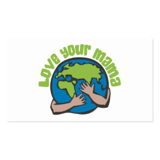 Love Your Mama Earth Business Card