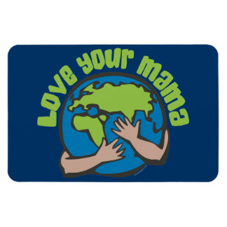 Love Your Mama Rectangular Photo Magnet