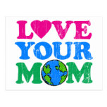 Love Your Mom Postcard