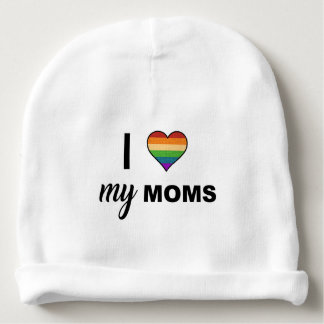 Love Your Moms Baby Beanie