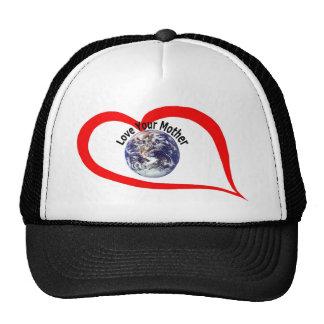 Love your mother  (3) trucker hat