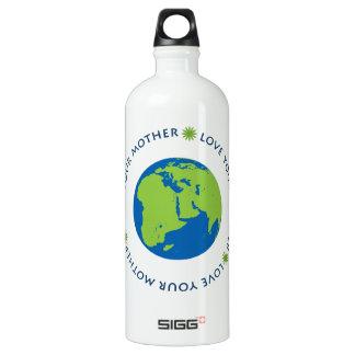 Love Your Mother Aluminum Water Bottle