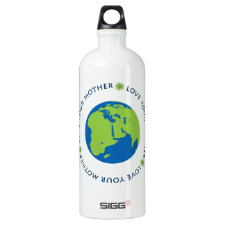 Love Your Mother (Earth) Aluminum Water Bottle