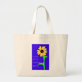 love your mother earth canvas bags