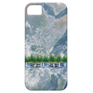 Love Your Mother Earth: Green Leaves & Water iPhone SE/5/5s Case