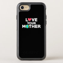 Love Your Mother Earth Hipster Novelty OtterBox Symmetry iPhone 8/7 Case