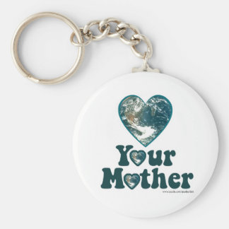 Love Your Mother Earth Keychain