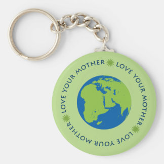 Love Your Mother (Earth) Keychain