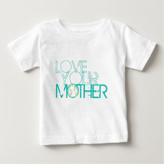 """""""Love Your Mother"""" Earth Vintage Baby T-Shirt"""