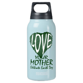 Love Your Mother Insulated Water Bottle