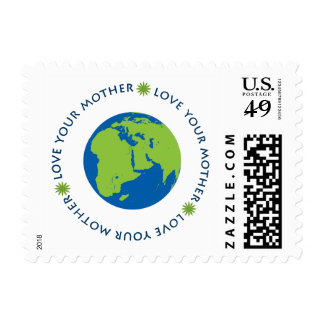 Love Your Mother Stamp