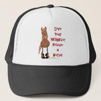 Love Your NEIGHbor Horse Rescue Trucker Hat