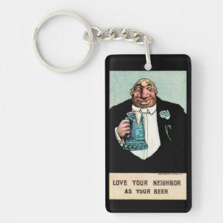 Love Your Neighbor Keychain