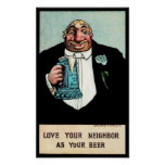 Love Your Neighbor Poster