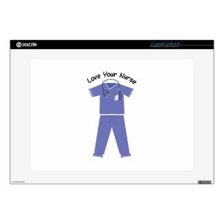 Love Your Nurse Laptop Decals
