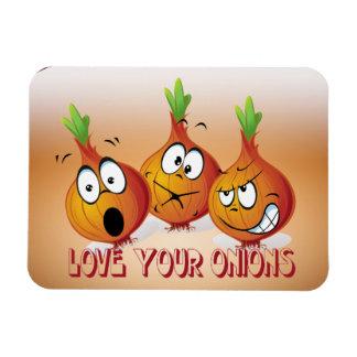 Love your onions Premium Magnet