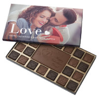 Love | Your Personal Photo and a Heart Assorted Chocolates