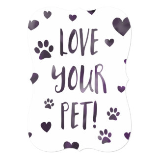 love your pet card