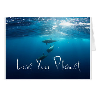 Love your planet card