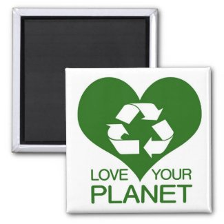 Love Your Planet - magnet magnet
