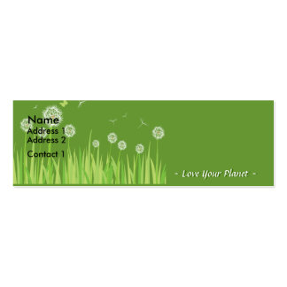 Love Your Planet Mini Business Card