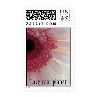 Love your planet postage