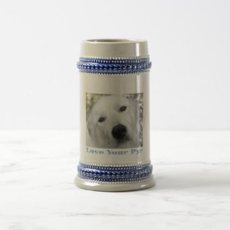 Love Your Pyr Great Pyrenees Blue stein