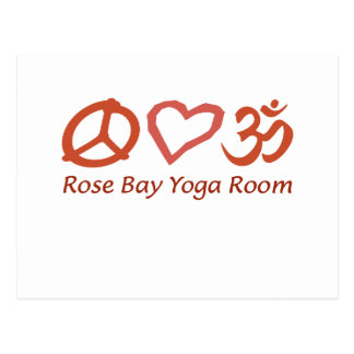 Love your Rose Bay Yoga time out Postcard