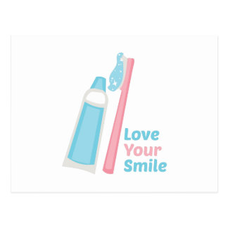 Love Your Smile Postcard