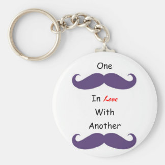 Love Your 'Staches Key Chains