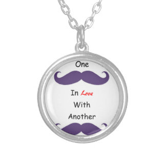 Love Your 'Staches Personalized Necklace