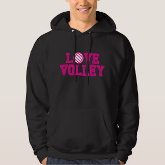 Love Your Volleyball Hooded Sweatshirt