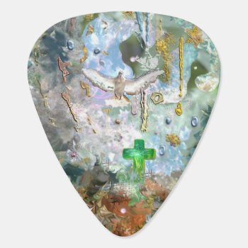 Love Your World Guitar Pick by FairyWoods at Zazzle