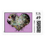Love your World! Postage Stamps