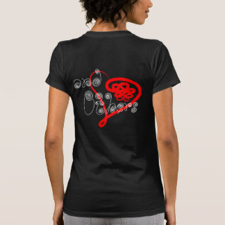Love Yourself and Others Handwritten Curly Cues T Shirt