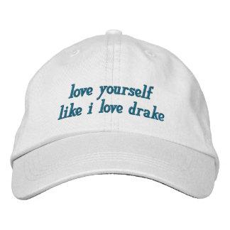 love yourself baseball cap
