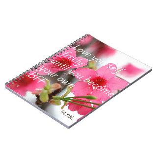 Love Yourself  BFF Spiral Notebook
