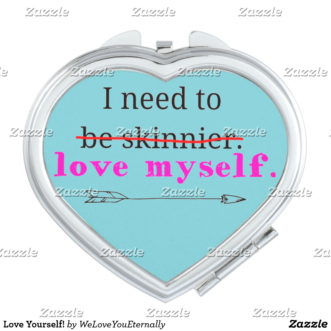 Love Yourself! Compact Mirror