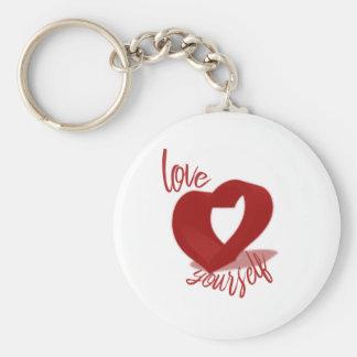 Love Yourself Keychain