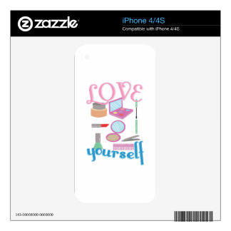 Love Yourself Skin For The iPhone 4S