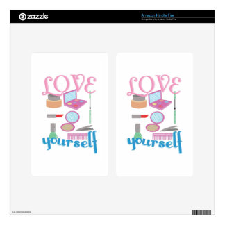 Love Yourself Skins For Kindle Fire